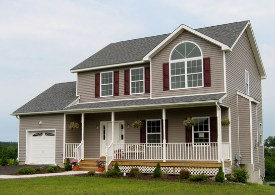 The Monterey:available as either a 3 BR with a 1 car garage or a 4 BR with a 2 car garage