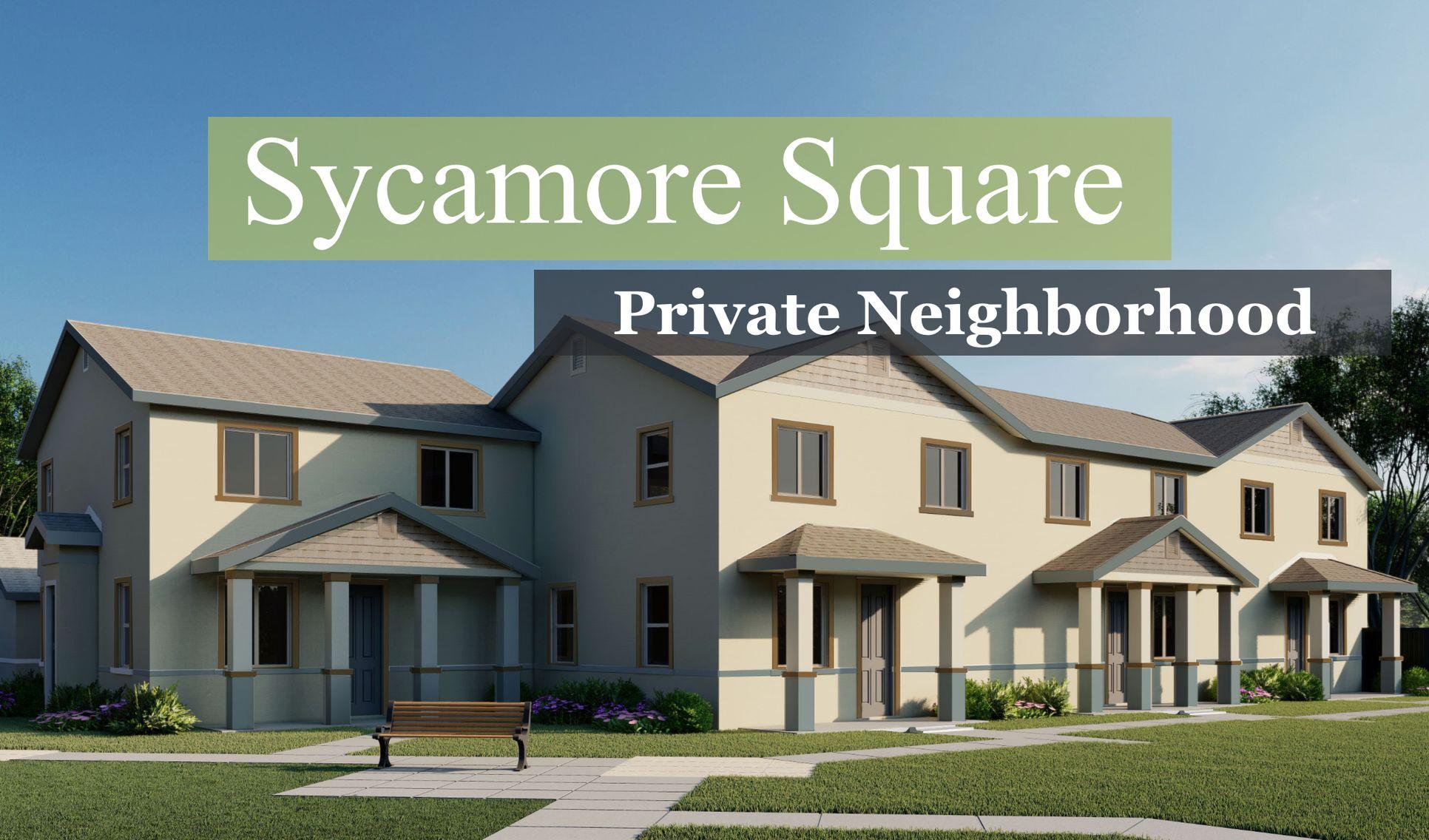 Sycamore Square:New Homes in San Bernardino