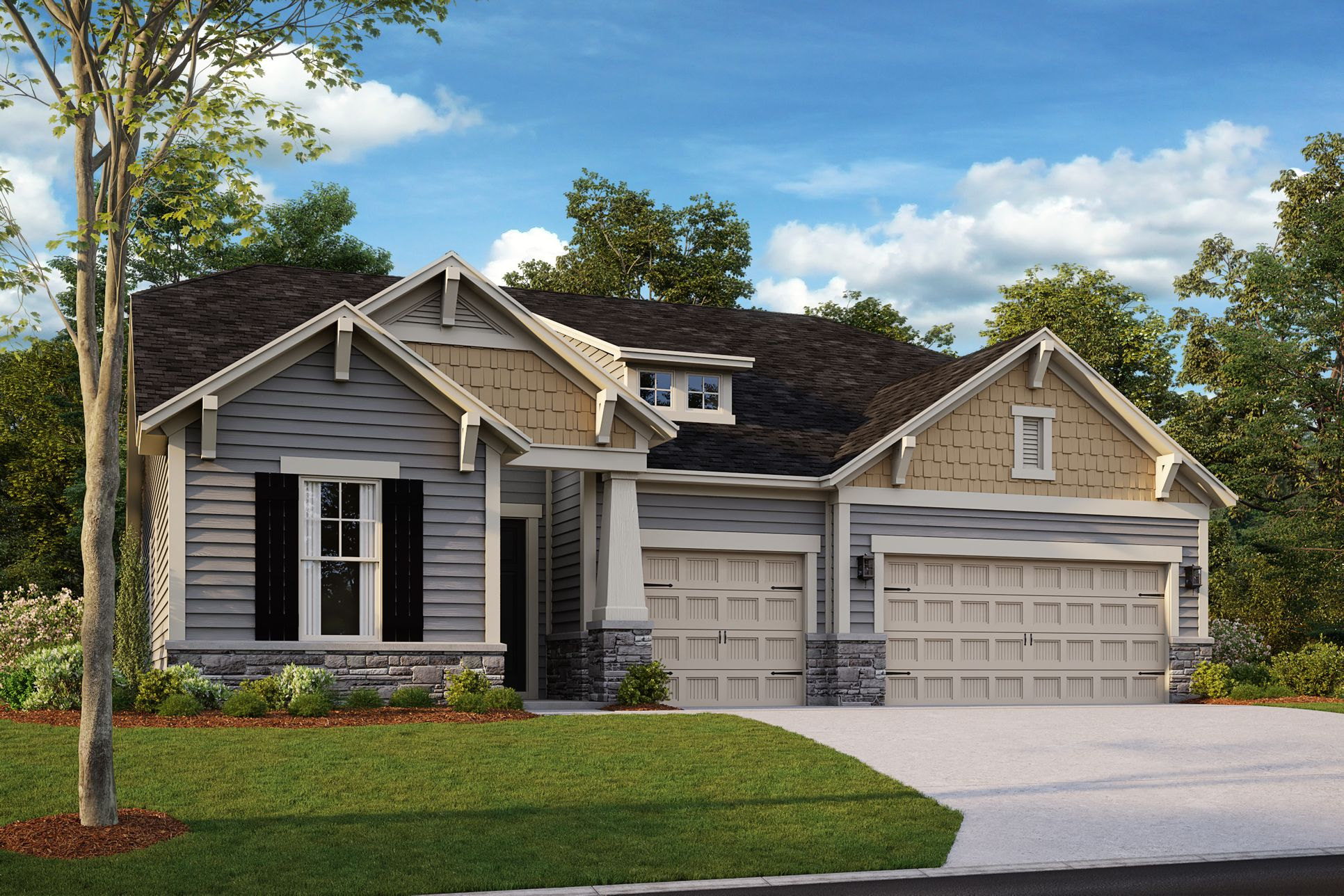 Whitman Traditional Elevation
