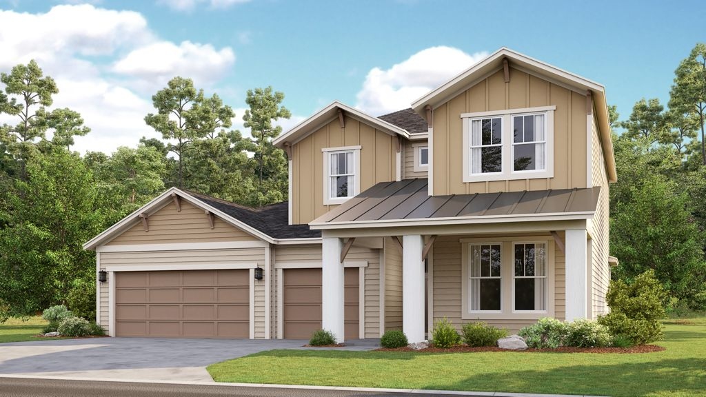 Coron, 2-story home, 3 car garage, metal...