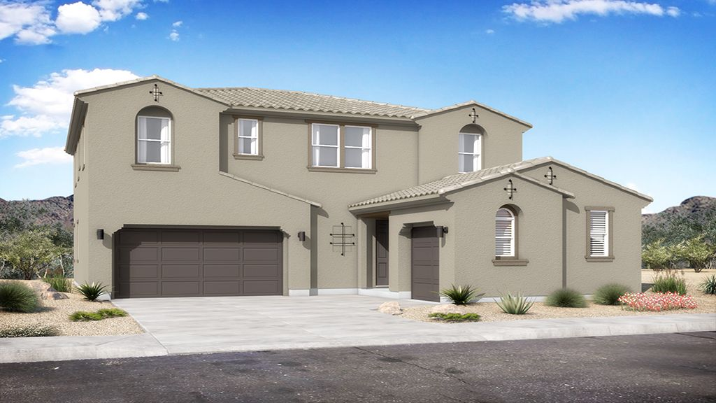 Almeria at Rancho Mercado - Plan 4 - Elevation A