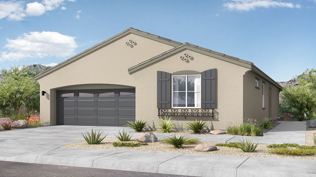 Rio Vista at Rancho Mercado - Plan 1 - Elevation A