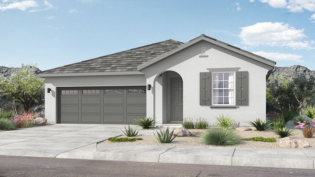 Rio Vista at Rancho Mercado - Plan 2 - Elevation A
