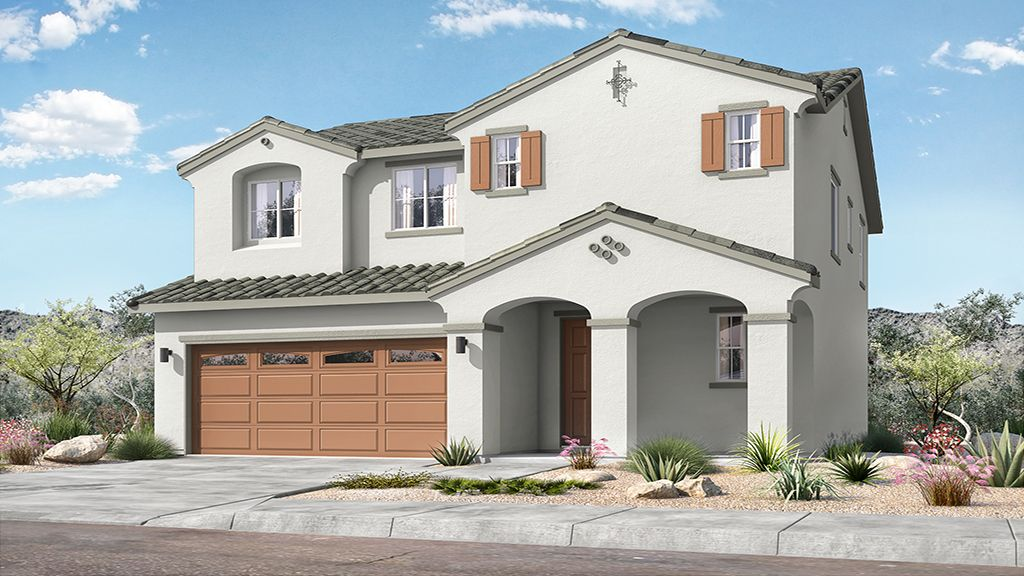 Rio Vista at Rancho Mercado - Plan 3 - Elevation A