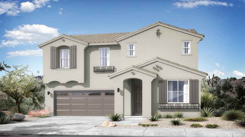 Rio Vista at Rancho Mercado - Plan 4 - Elevation A
