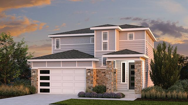 Sky Ranch Model  Home