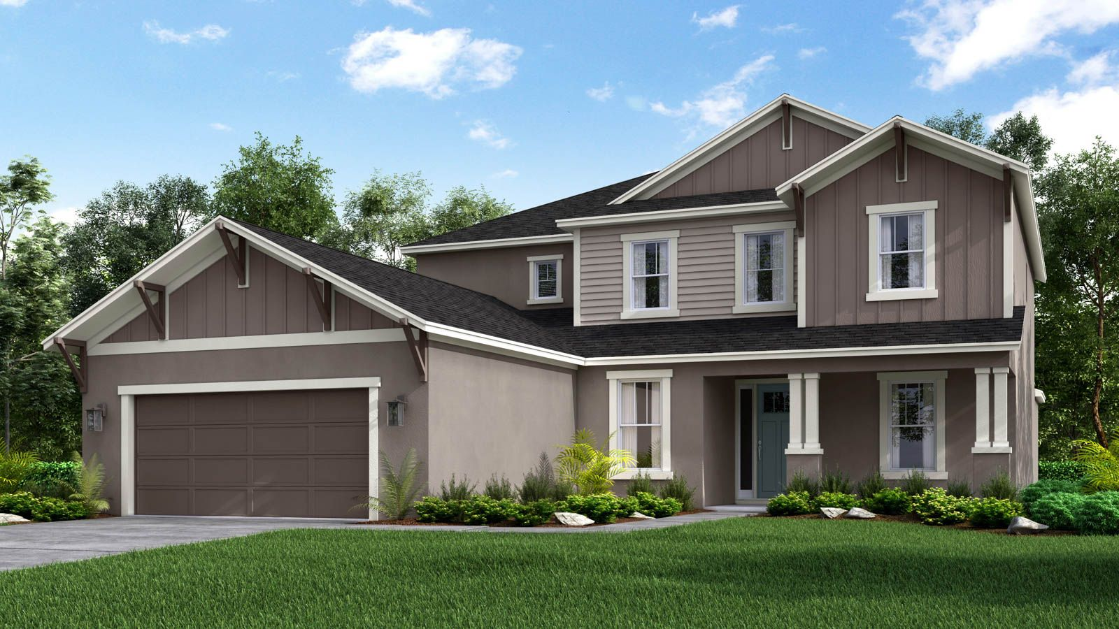 Sand Key Craftsman Elevation A