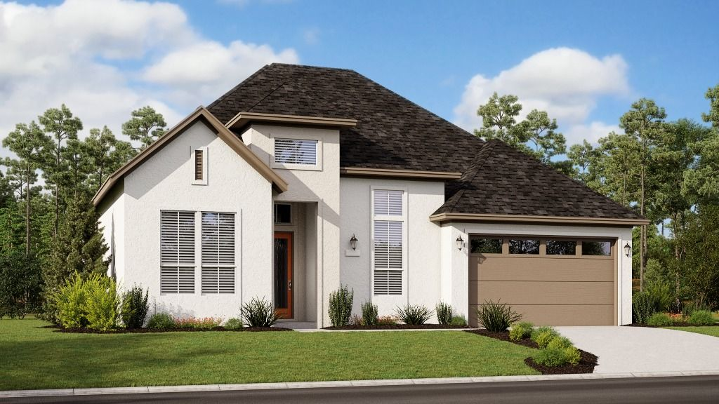 Plan 5089 - Elevation I1