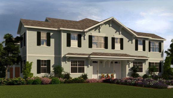 Digital Rendering of Similiar Home