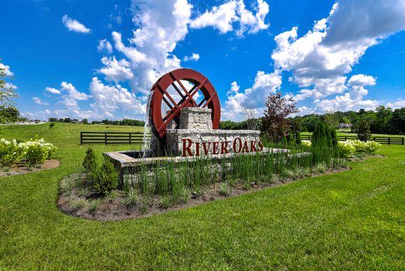 River Oaks Entrance