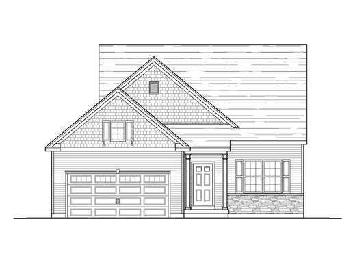 The Pennfield:Standard Elevation