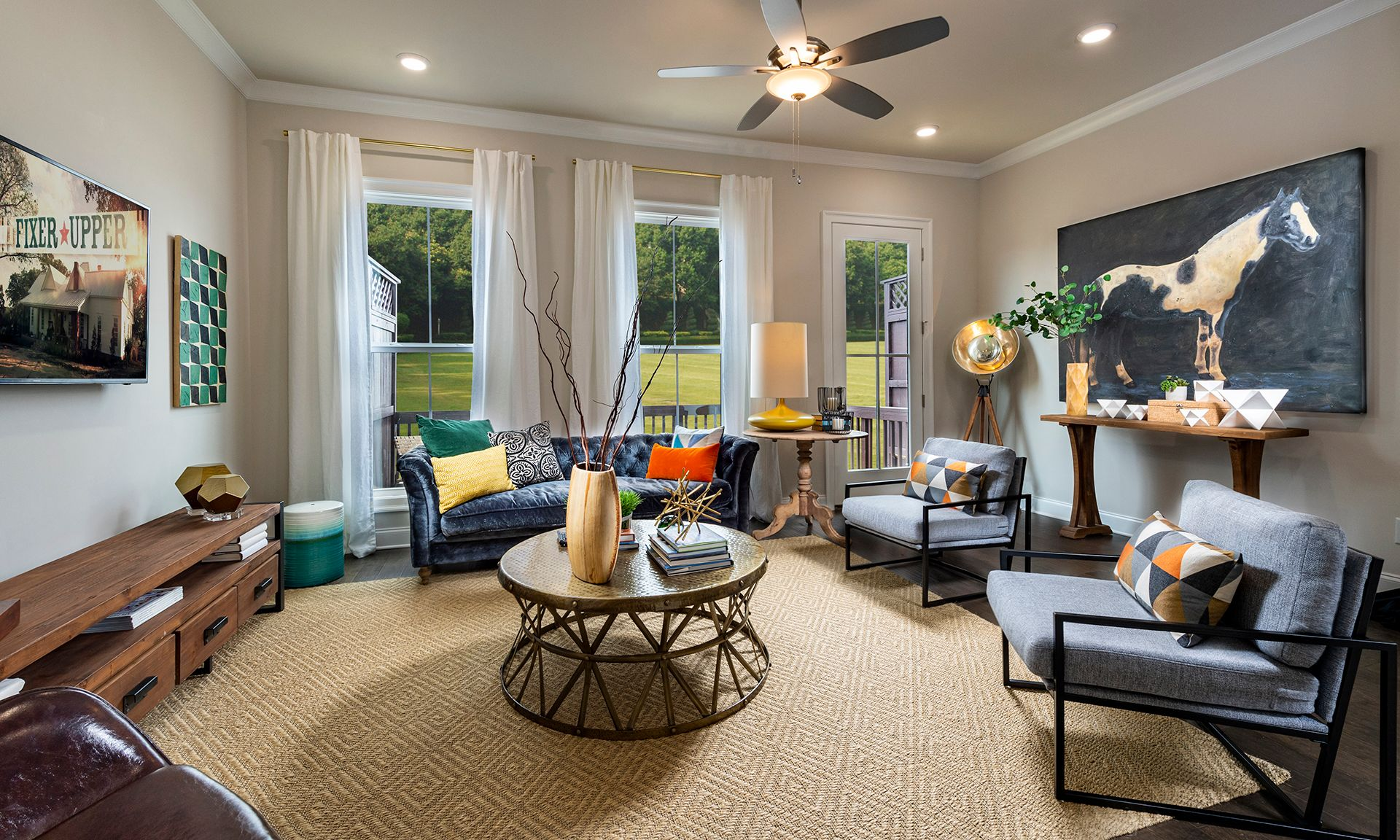 Westside Village:The Westside Home Design Family Room