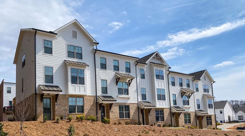 Exterior:The Greyson Elevation at Harvest Park