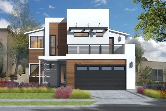 The Reed Collection:Modern Elevation
