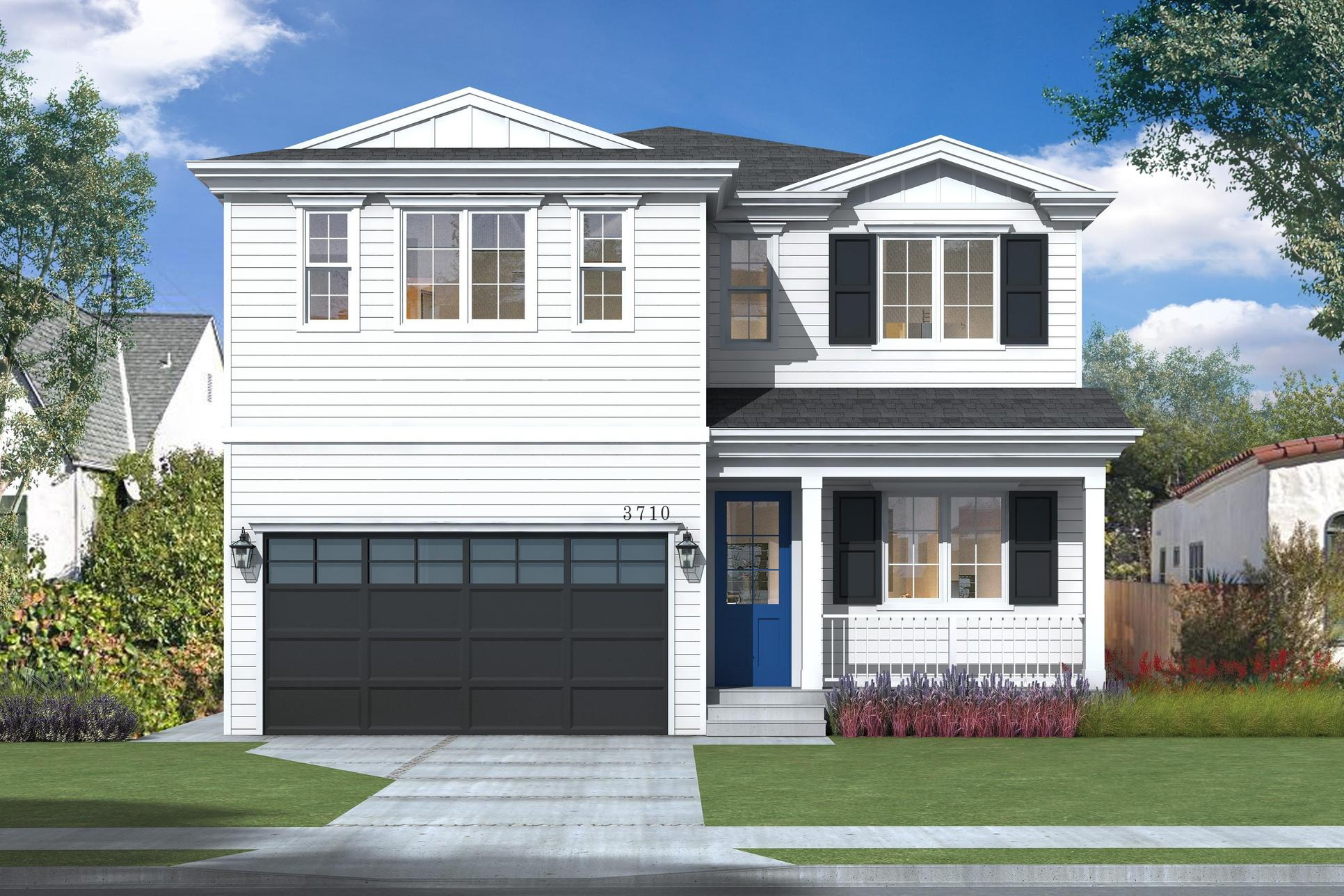 The Acacia Collection:Traditional Elevation