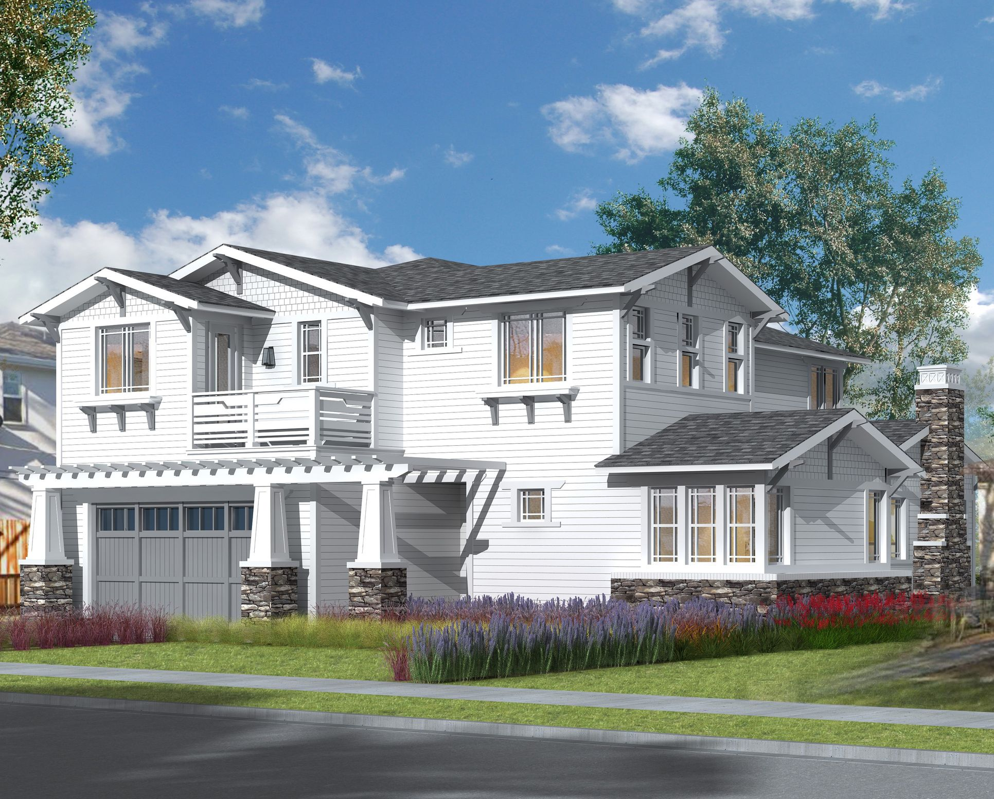 The Sierra Collection - Craftsman Elevation