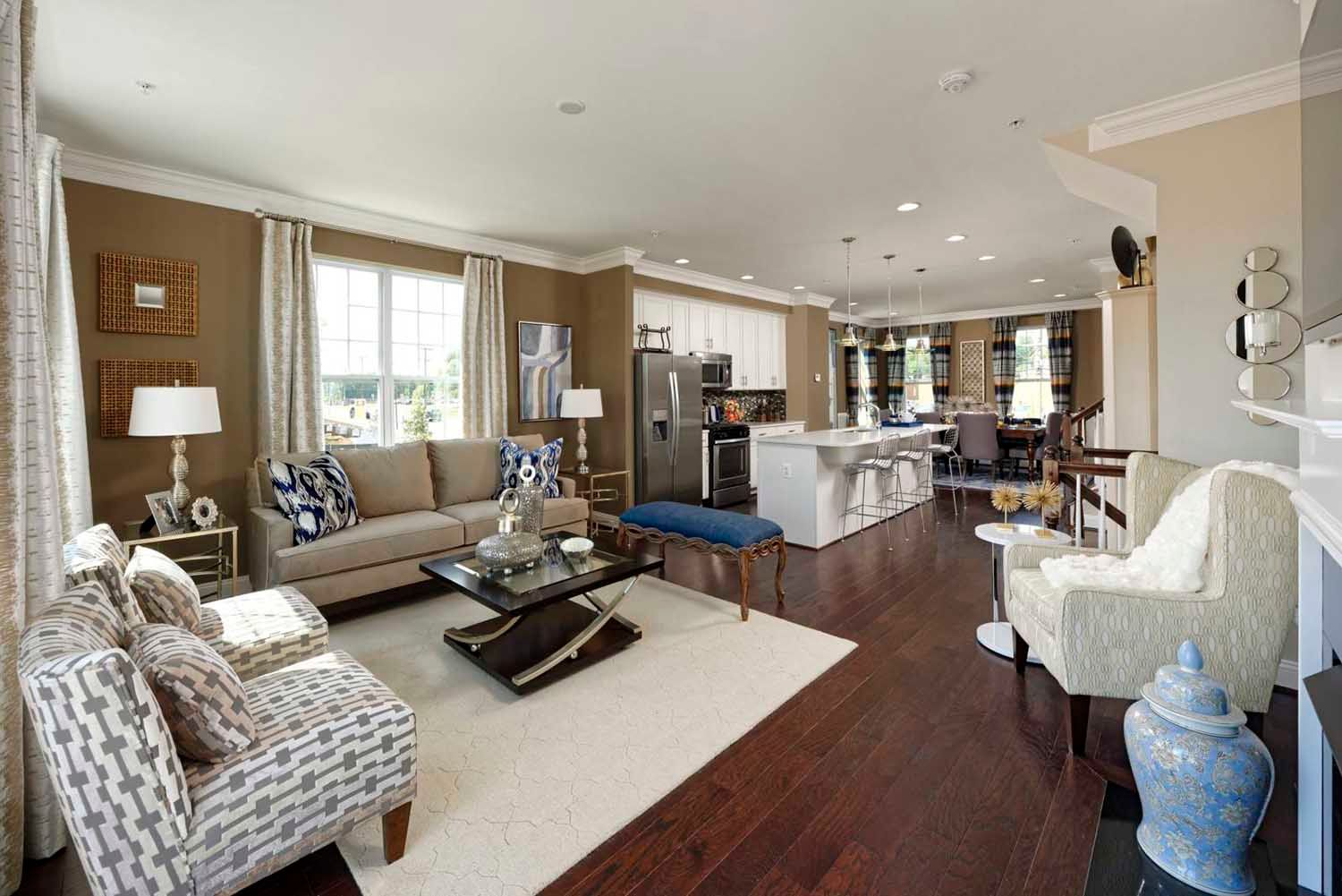 Wood Glen :Luxury 3/4 Level Townhomes