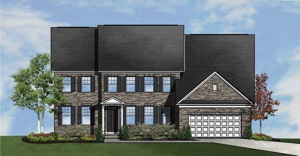 The Scarlet Oak:Timberlake Homes at Marlboro Ridge