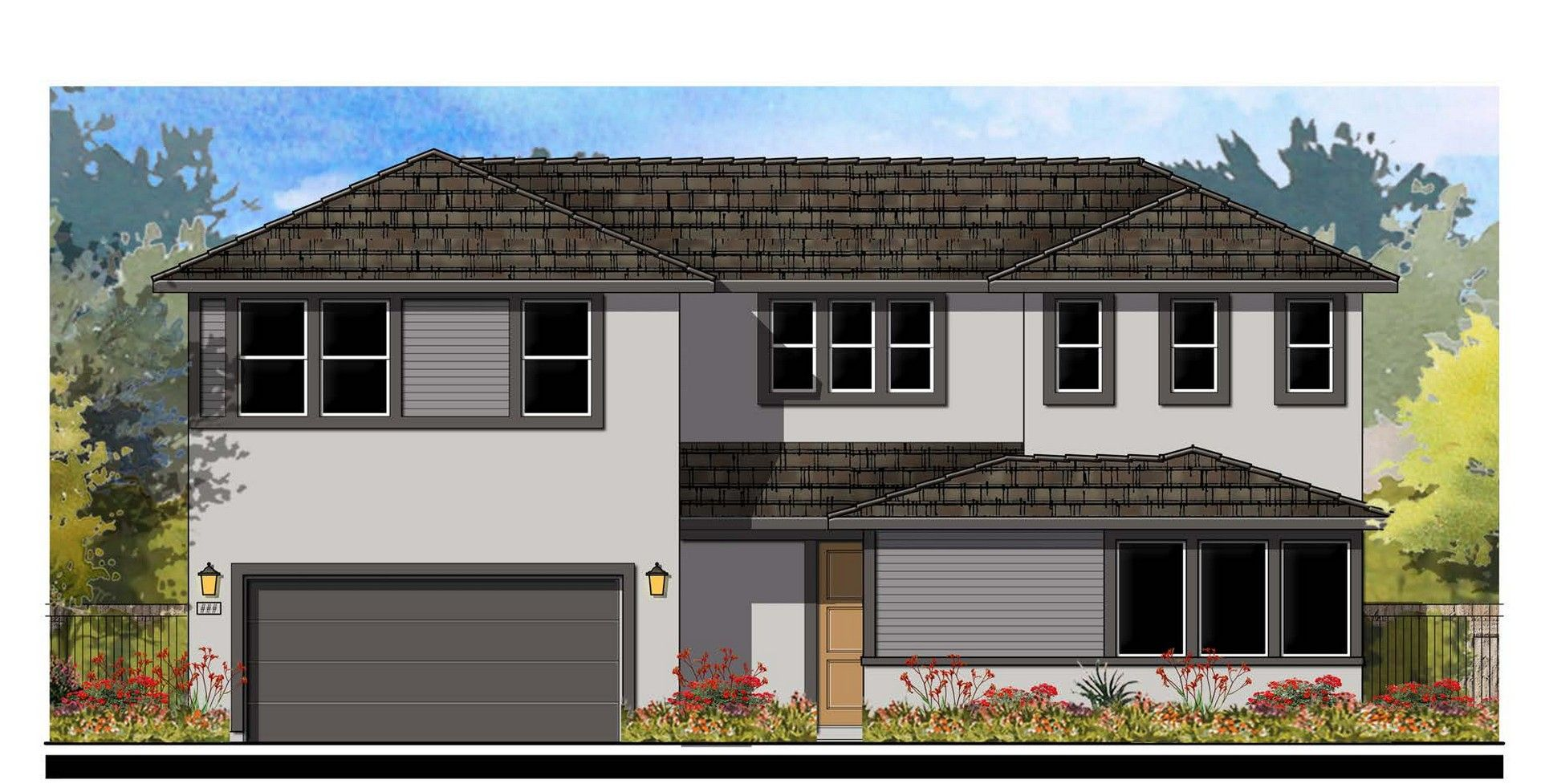 Residence 5 Elevation A