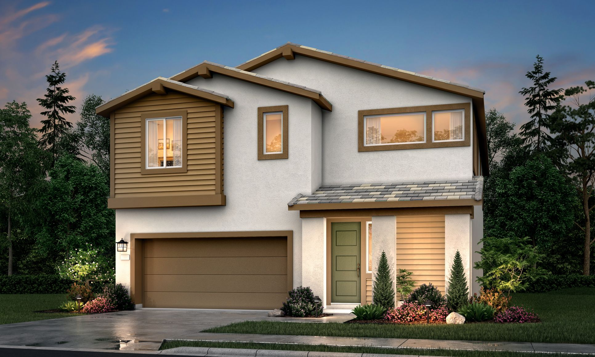 Exterior:Reflections at Poppy Ln 2A