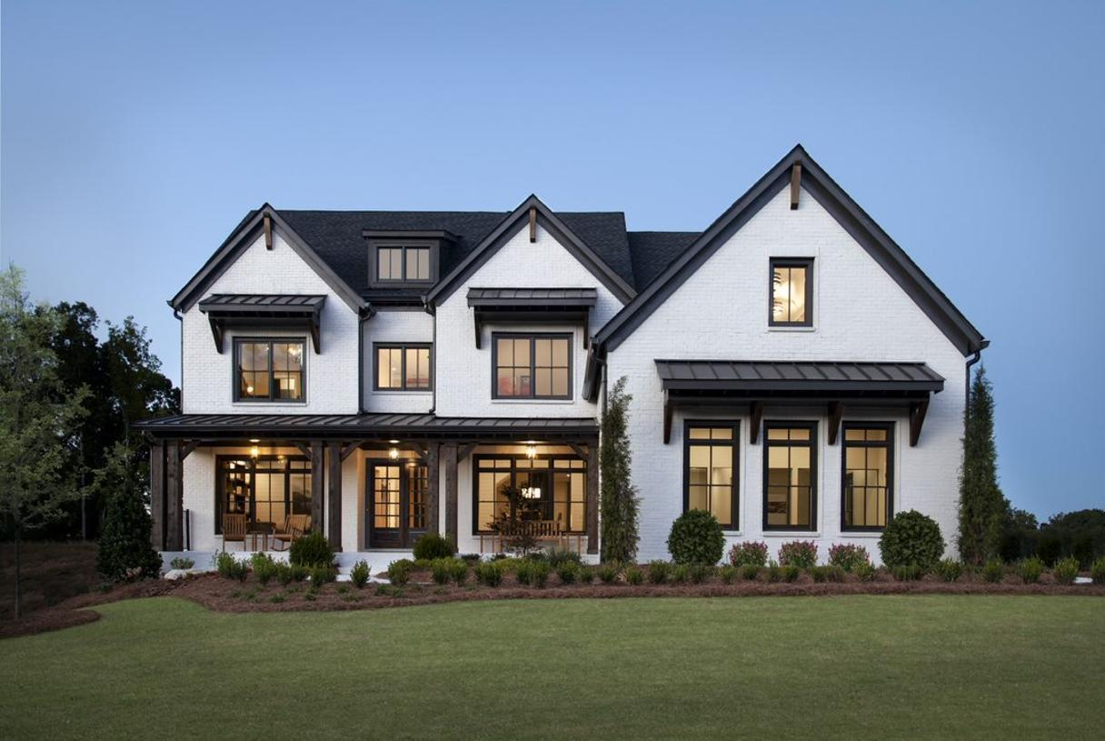 Elevation Image:Stunningly appointed model home