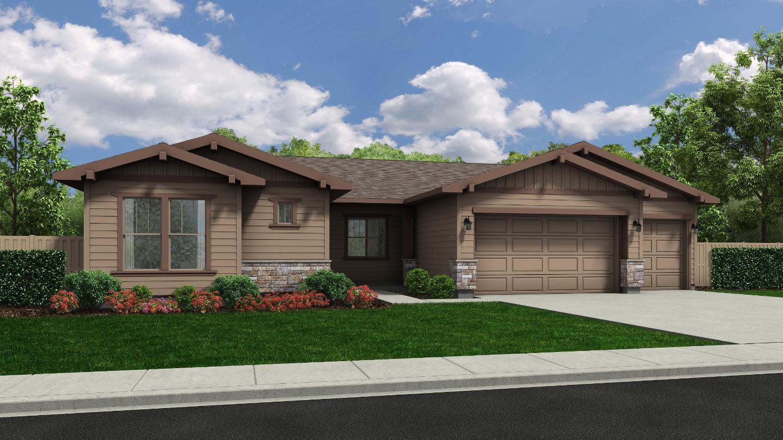 Elevation Image:California Craftsman