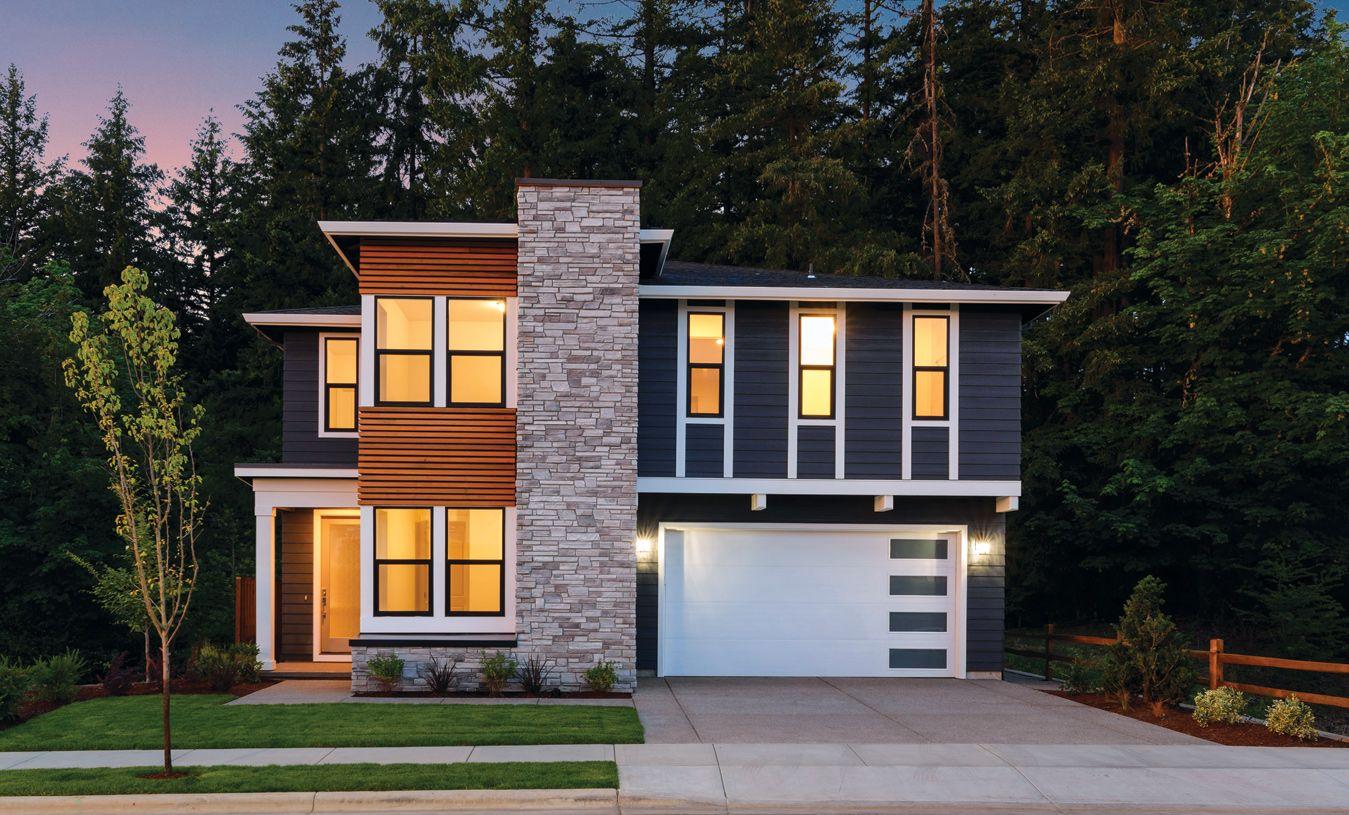 Elevation Image:Northwest Contemporary