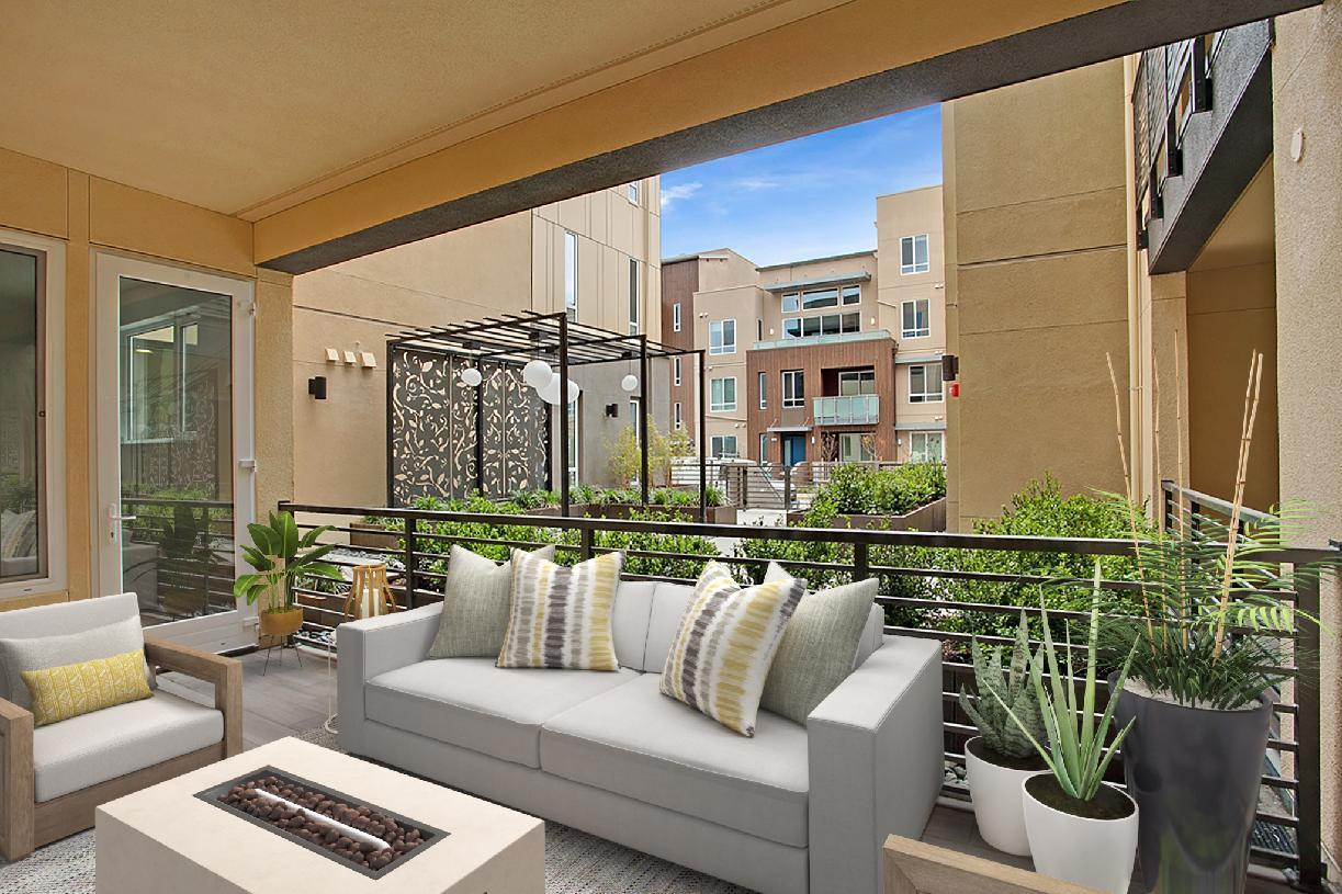 Elevation Image:Private Outdoor Patio