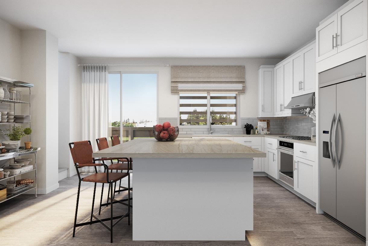 Elevation Image:Sage floor plan kitchen