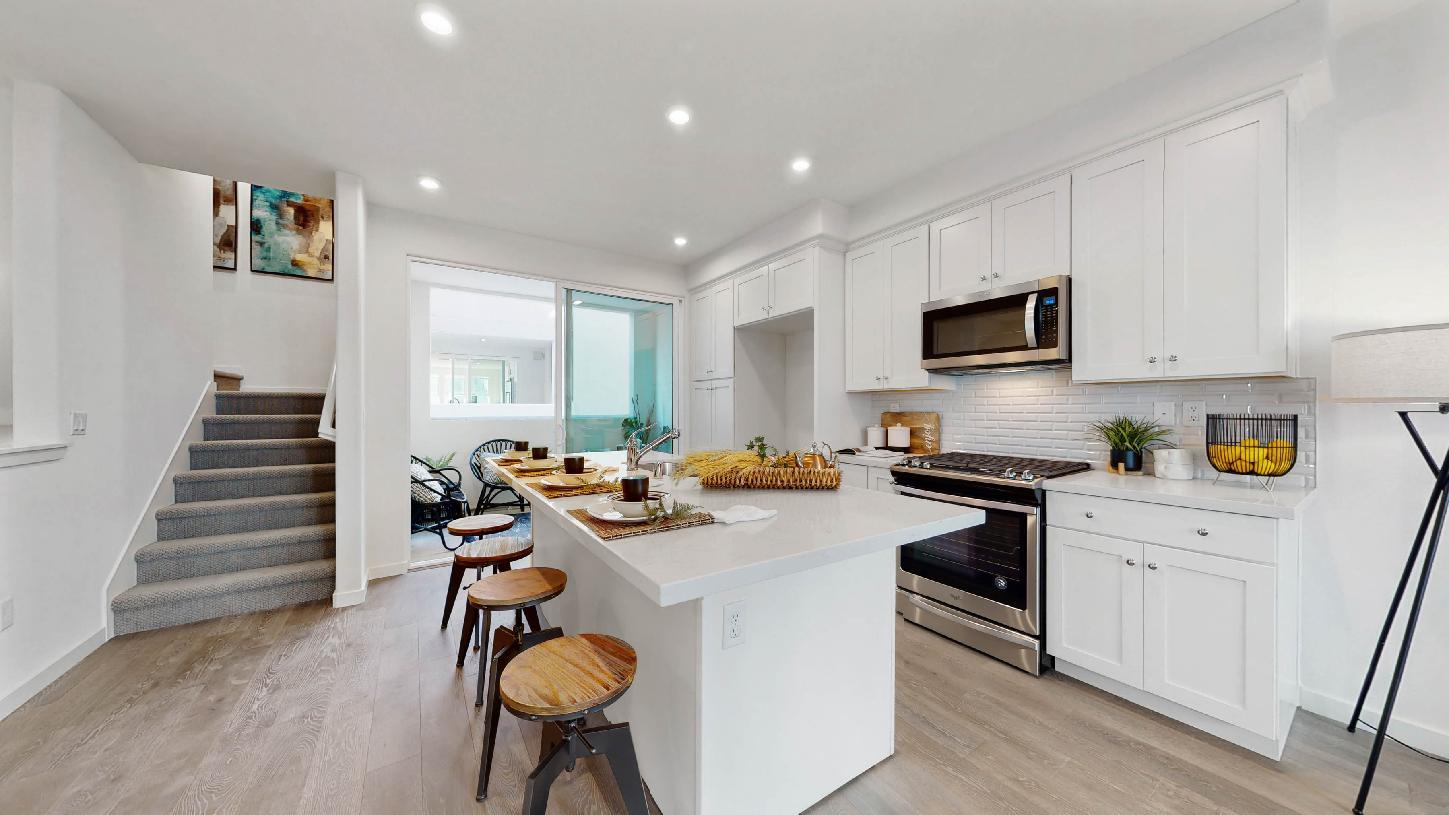 Elevation Image:Bayshore plan kitchen
