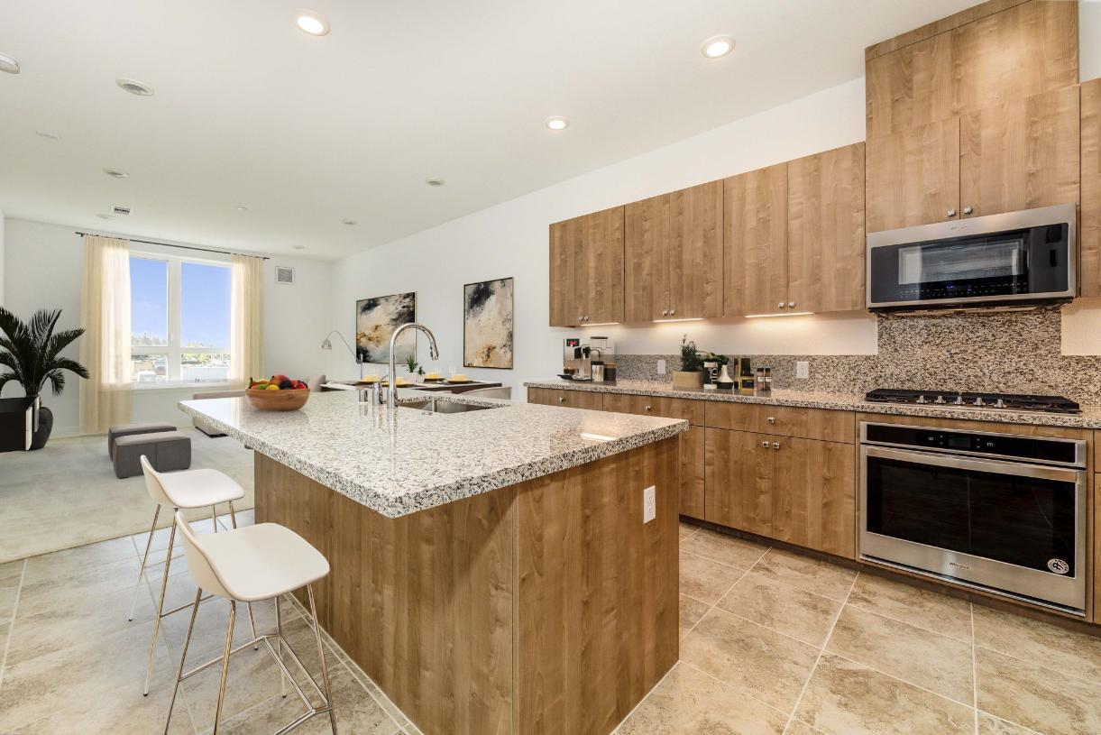 Elevation Image:Gourmet kitchen with grand island