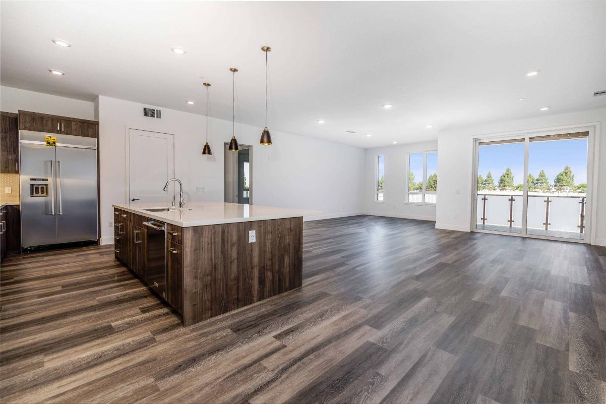 Elevation Image:Toll Brothers Chancery Lane at Metro Crossing open concept floor plan
