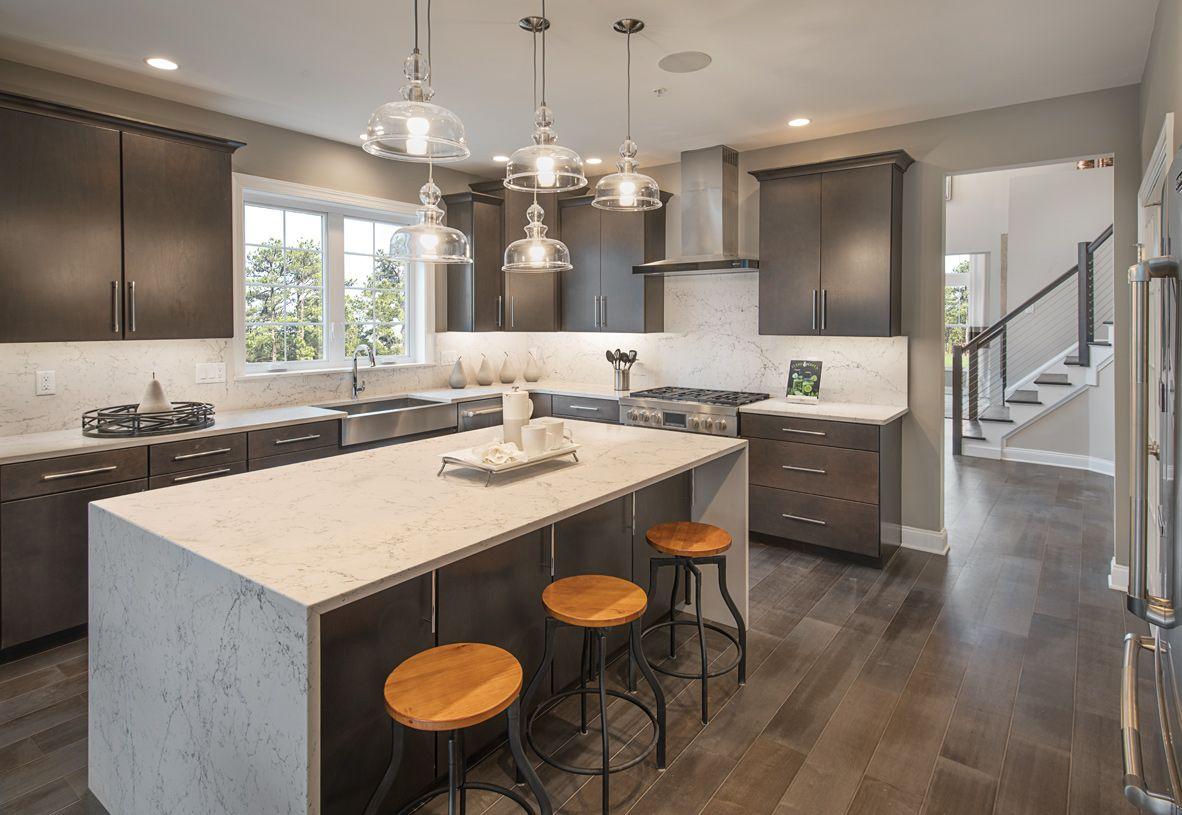 Interior Image:Spacious kitchen with center island