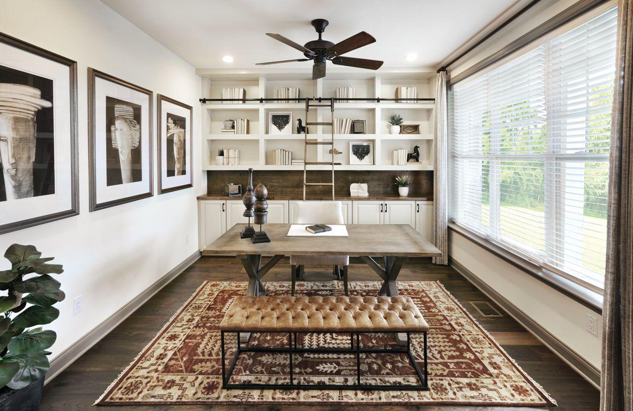 Interior Image:First-floor office