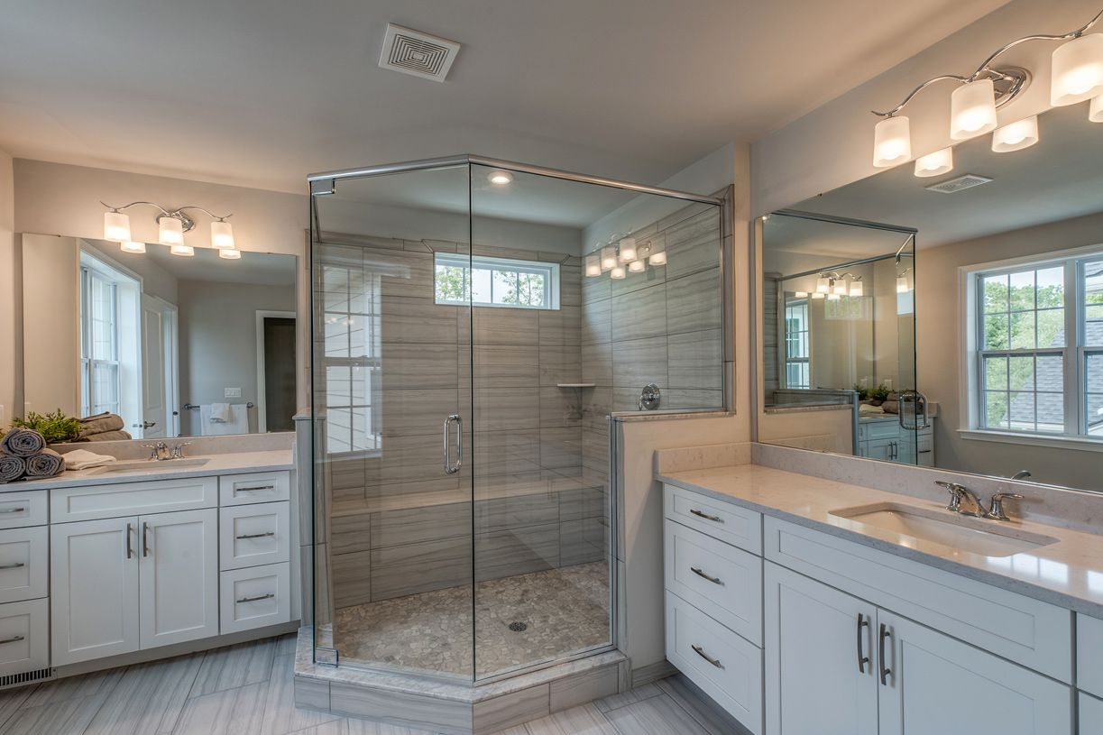 Elevation Image:Lavish primary bath shown with Luxurious Primary Bath Package