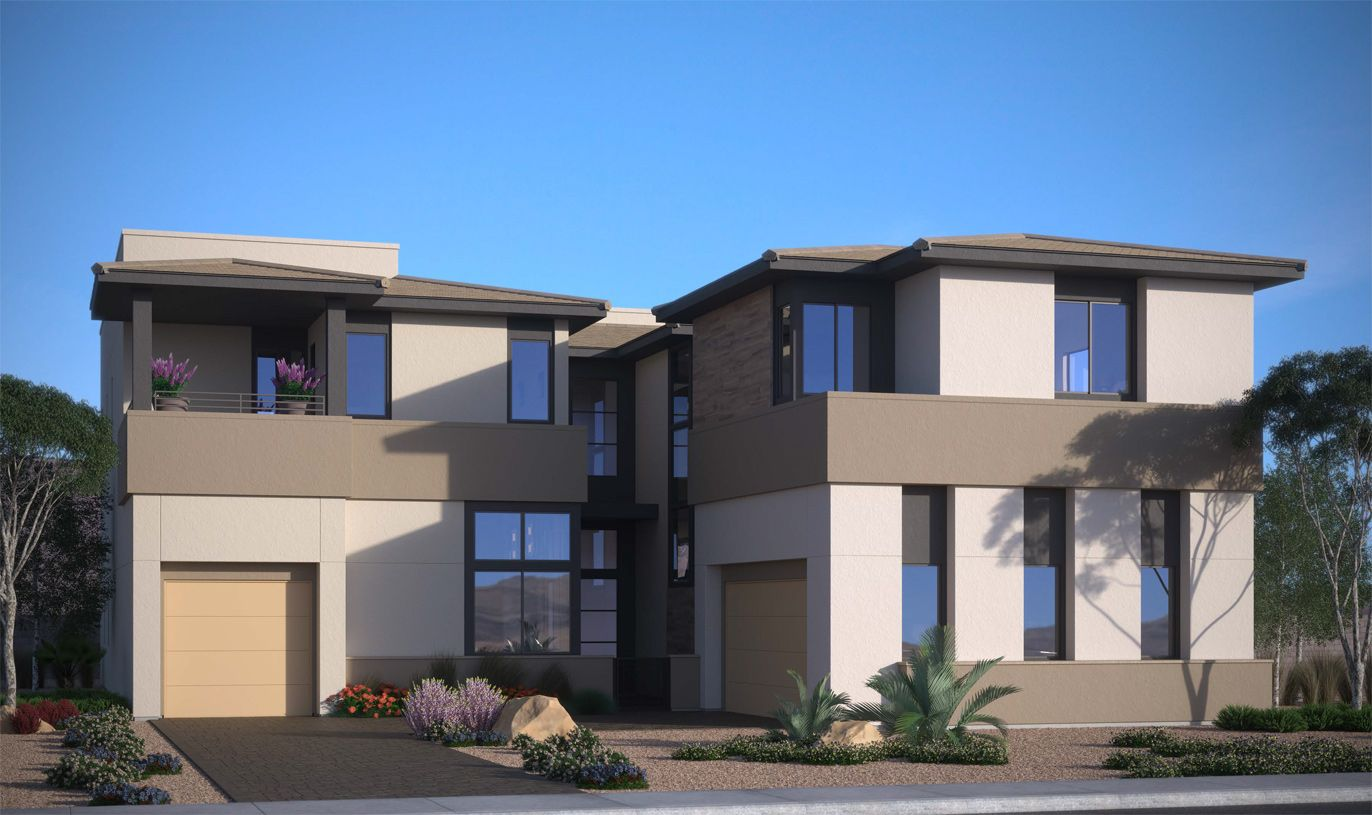 Elevation Image:The Desert Contemporary