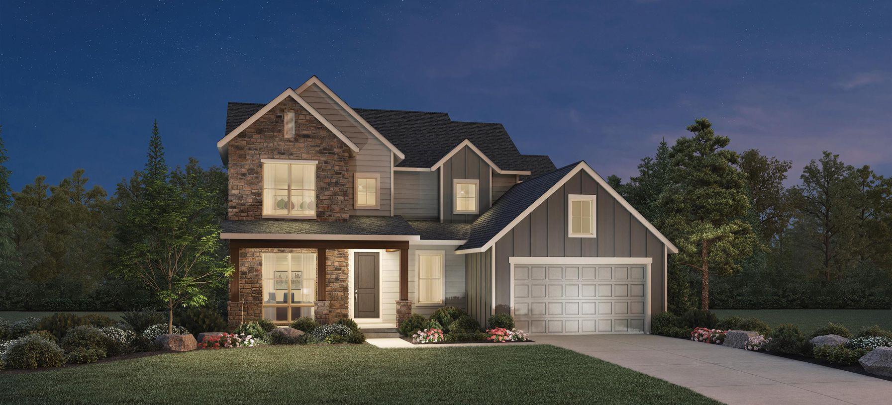 Elevation Image:The Modern Farmhouse