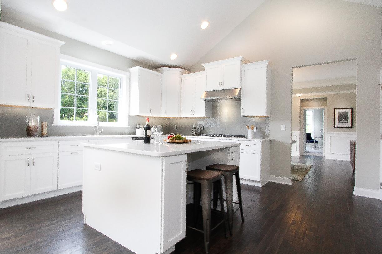 Interior Image:Kitchen with Center Island