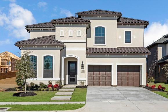 Elevation Image:Stunning stucco exterior