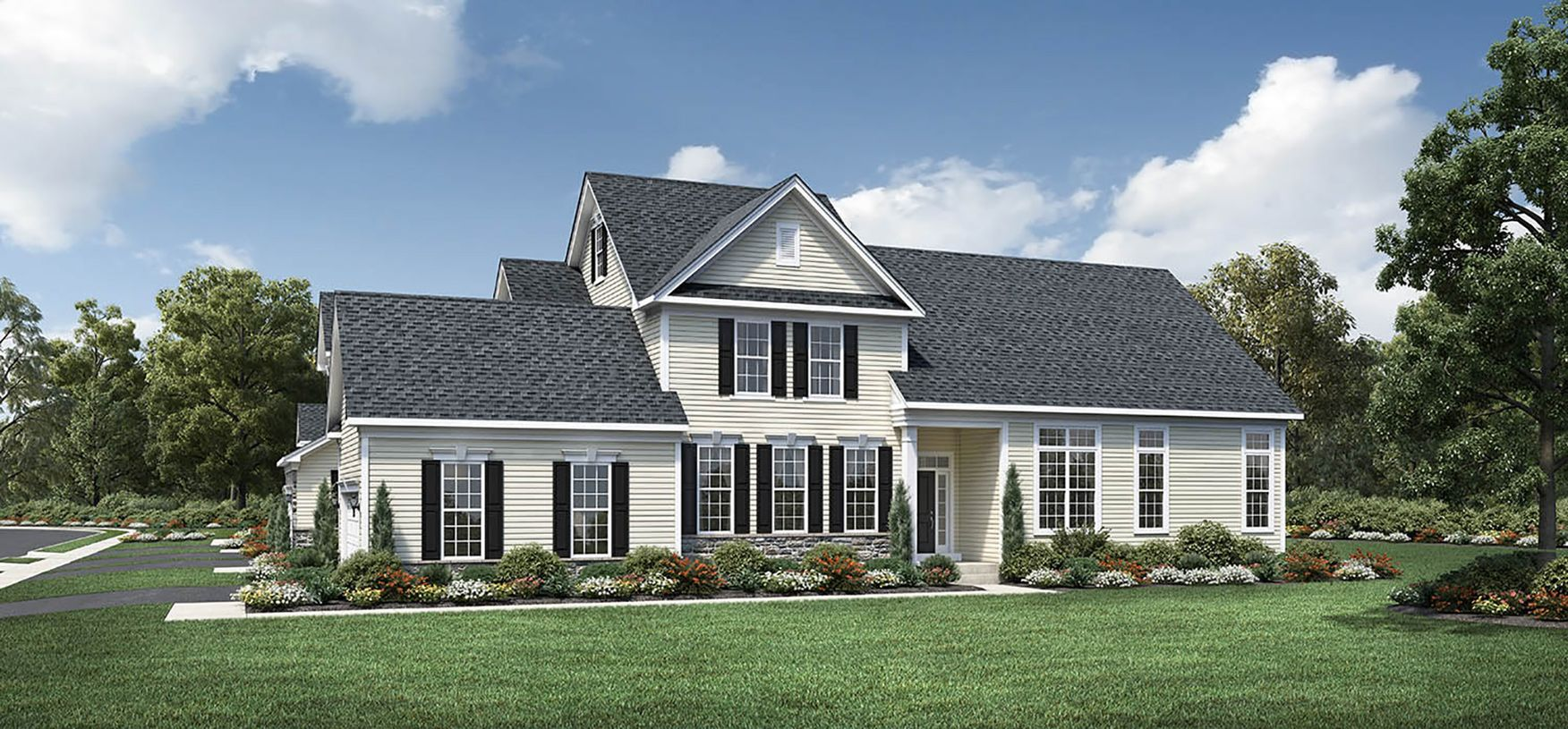 Elevation Image:Country Manor