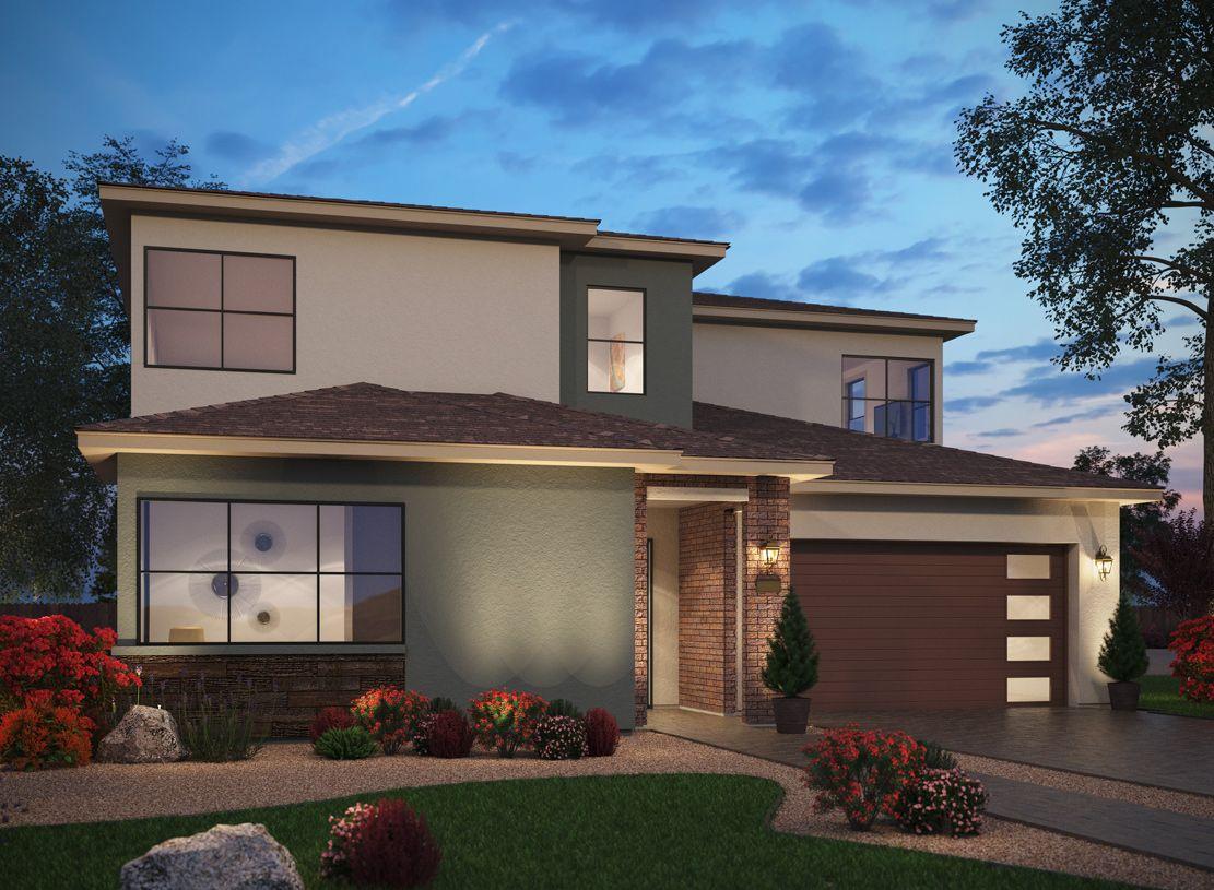 Elevation Image:The Modern Craftsman