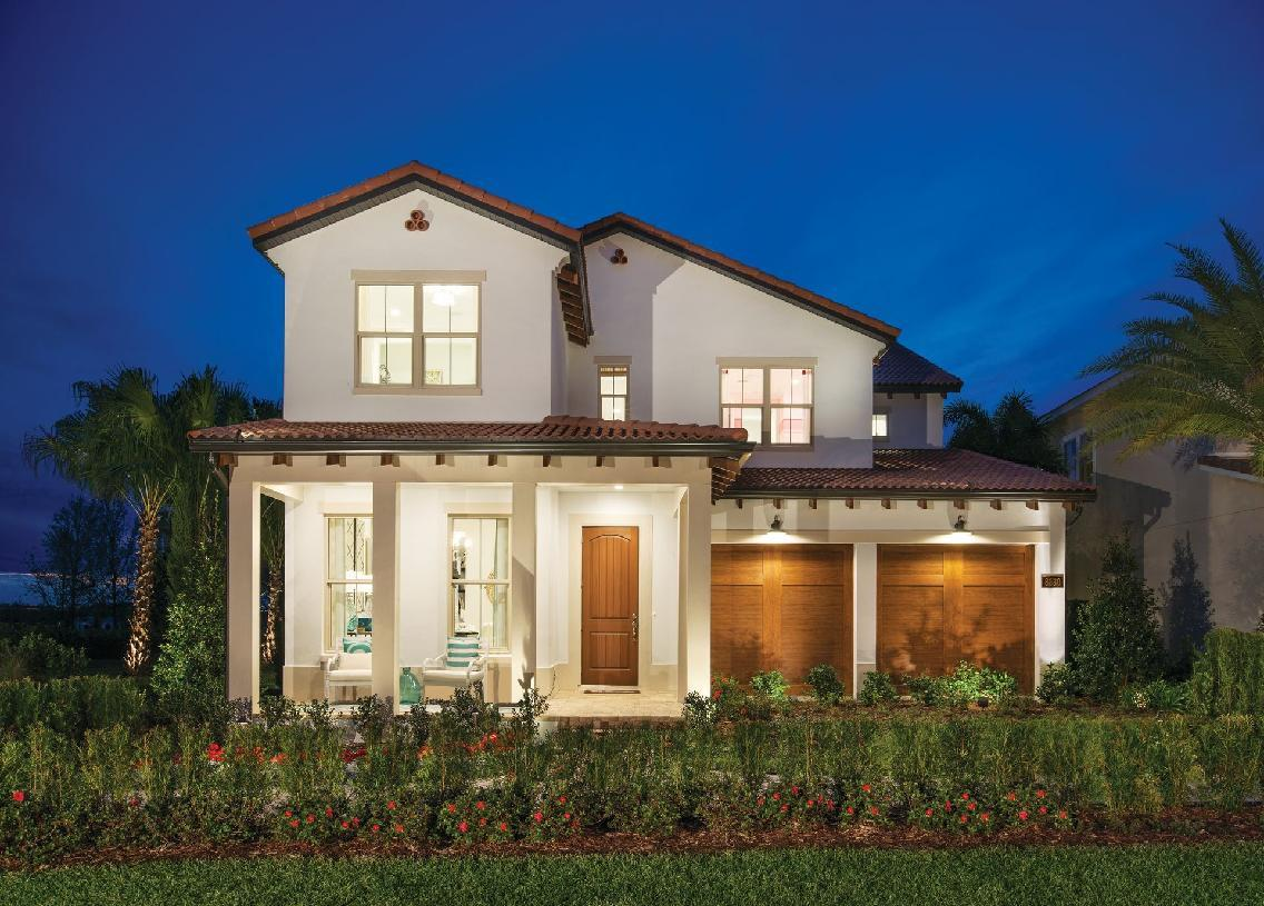 Elevation Image:Gardenia Model Spanish Colonial Elevation