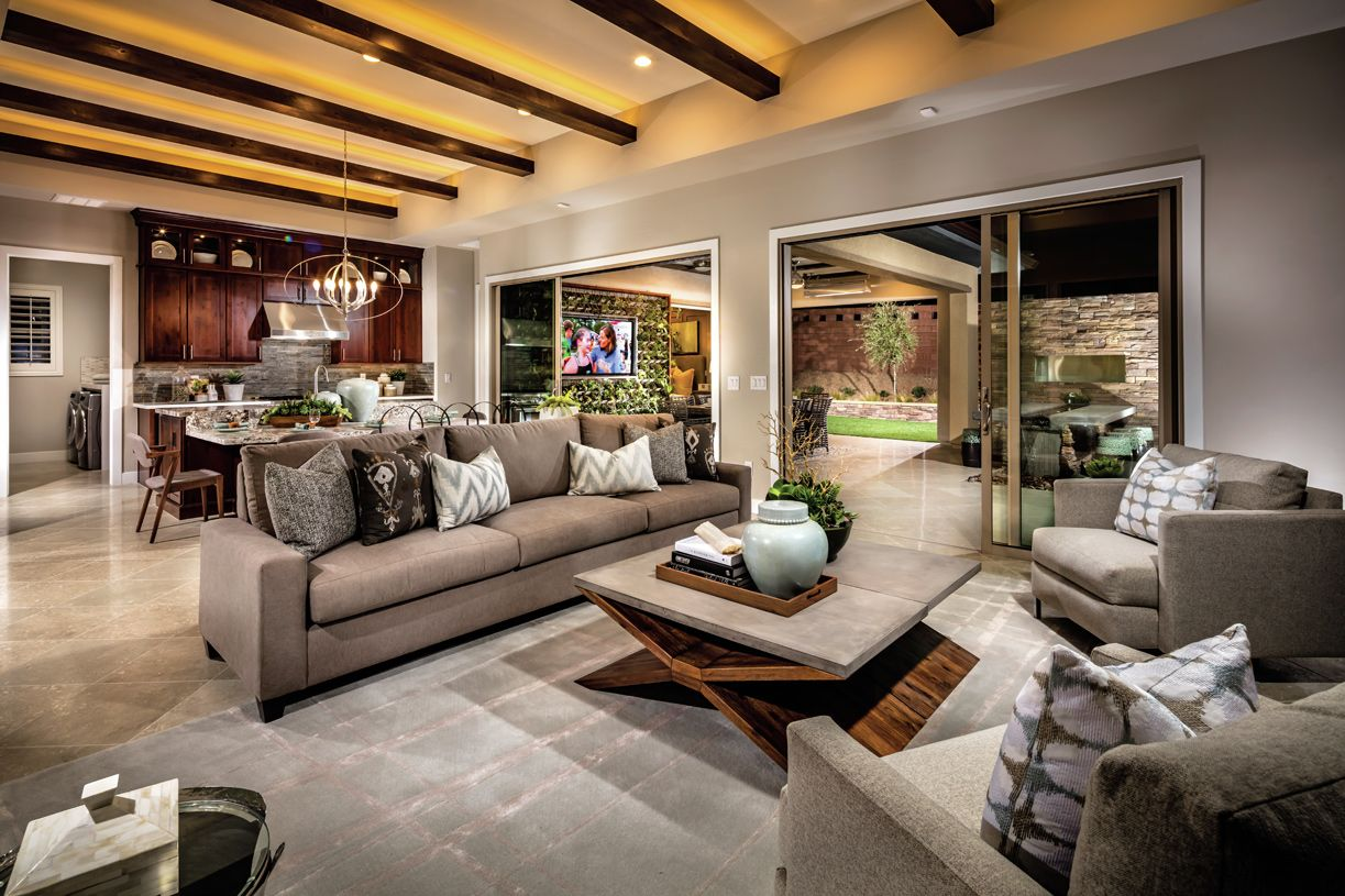 Interior Image:The Gilmore offers a welcoming and spacious floor plan