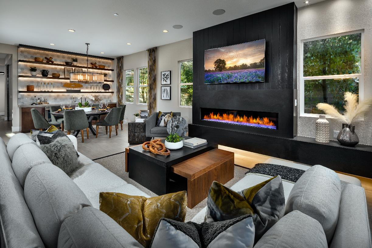 Interior Image:Open-Concept Great Room