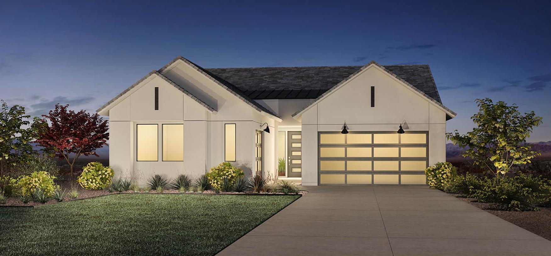 Elevation Image:The Contemporary Farmhouse