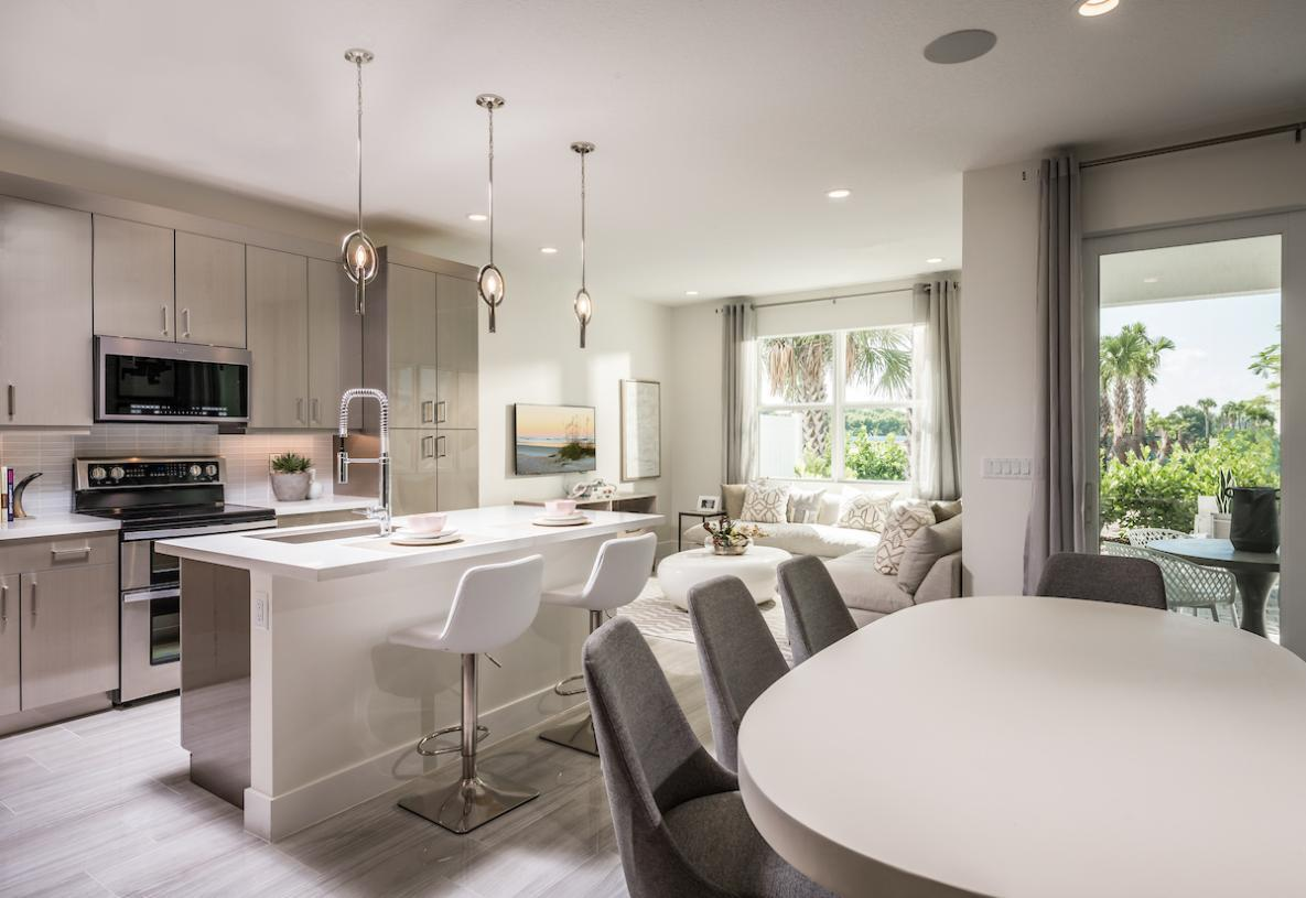 Interior Image:Kitchen, Casual Dining, and Great Room