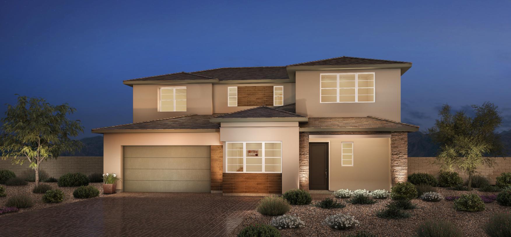 Elevation Image:Modern Craftsman