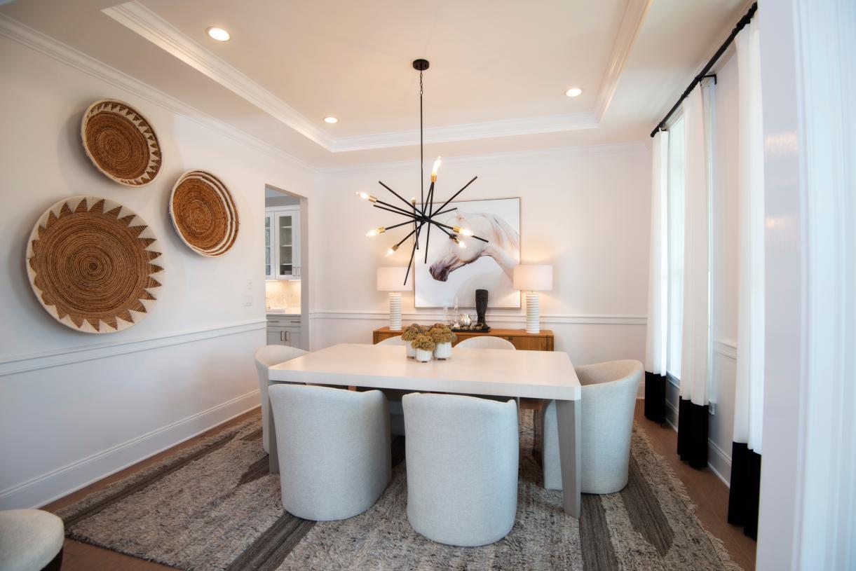 Interior Image:Entertaining is a Breeze in the Formal Dining Room