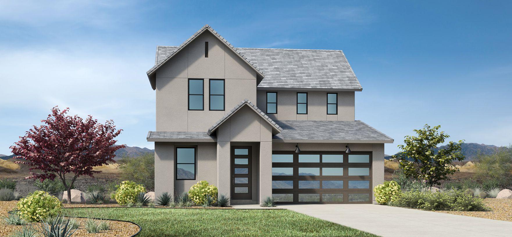 Elevation Image:Contemporary Farmhouse