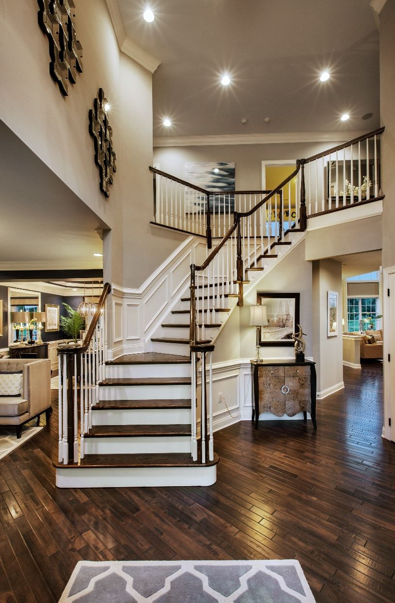 Interior Image:Welcoming Two-Story Foyer